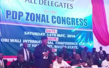 PDP ZONAL CONGRESS: AKS PDP SPOKESMAN CONGRATULATES ANTE