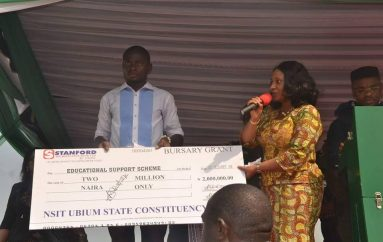 Akwa Ibom Speaker Empowers Constituents With Items Worth Over N100 Million