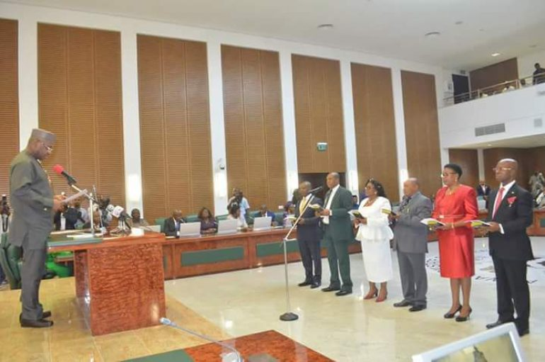 Gov Udom Charges New Permanent Secretaries On Digilence And Patroistism