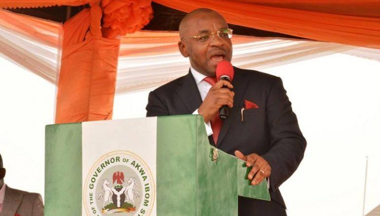 Gov Emmanuel Commissions Remodeled Edere Obo Market
