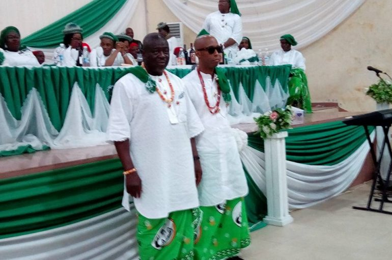 Obong Paul Ekpo, Barr Goddy Umoh, Ors Inducted Into Ati Annang