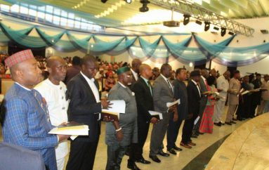 Gov Udom Emmanuel Inaugurates 30 LG Transition Committees