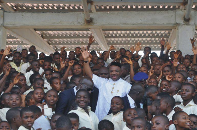 Gov Udom Emmanuel: Guaranteeing Tomorrow Through Education