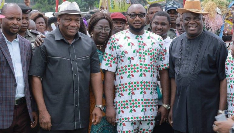 Mkpat Enin PDP Inaugurates Campaign Committee