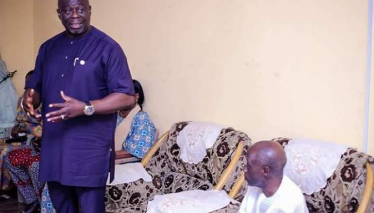 Akwa Ibom PDP Consoles Mbosowo Orok's Family