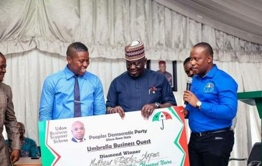 PDP Donates N1 Million To Winners Of The Maiden Edition Of The Umbrella Business Quest