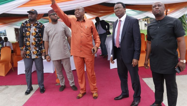 AKSG Flags-Off State-Wide Fibre Optic Broadband Project