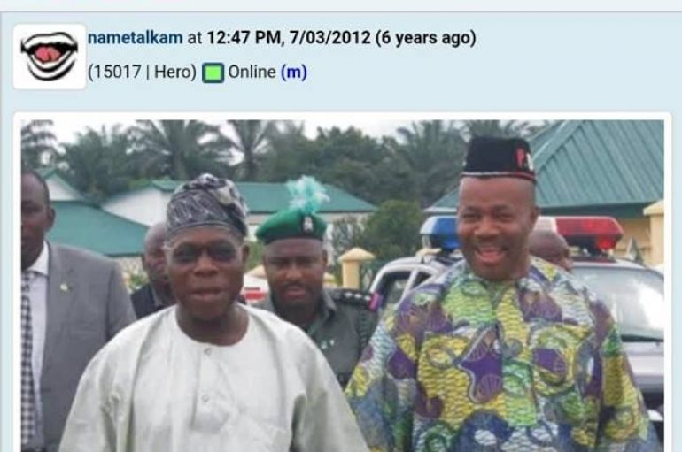 Obasanjo's visit to Akwa Ibom: APC's Senseless Spin