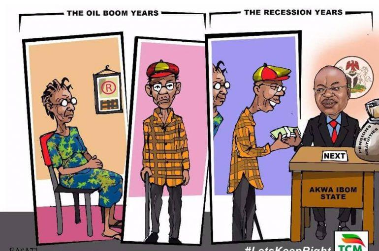 Gov Udom Emmanuel Settles 2015 Gratuity, Others