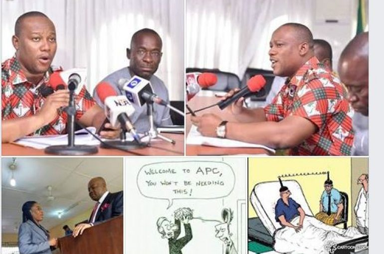 Institutionalization of Blame Game: A Case Study of APC Akwa Ibom State