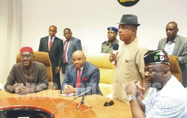 PDP Commiserates With Governor Udom Emmanuel Over Father's Death