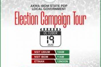 AKWA IBOM PDP LOCAL GOVERNMENT ELECTION CAMPAIGN TOUR