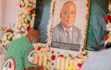 IKOT EKPENE, NSIT IBOM, IBENO PDP STAKEHOLDERS MOURN UDO EKPENYONG'S DEMISE