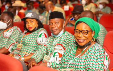 PDP S-SOUTH ZONAL CONVENTION: AKWA IBOM PDP MEMBERS CLINCH STRATEGIC POSITIONS