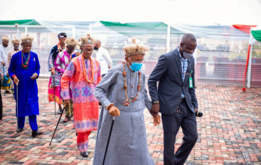 Ahead of Final interment: Royal Fathers Visit Udo Ekpenyong's Family