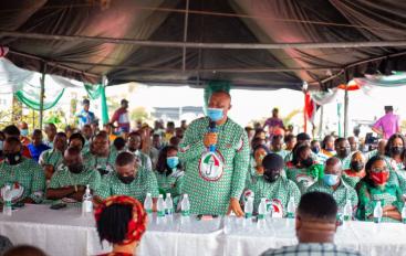 Akwa Ibom PDP visits late Udo Ekpenyong's Family